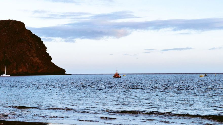 Playa de La Tejota, en Granadilla.