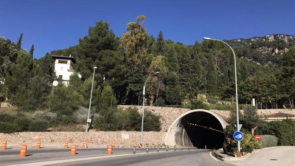 Fotografía de archivo del túnel de Sóller.