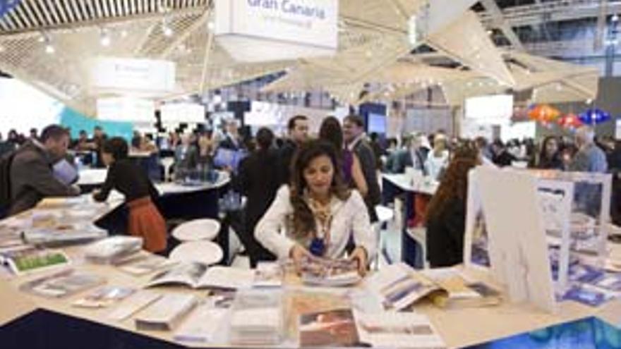 Pabellón de Canarias en Fitur. (ACFI PRESS)
