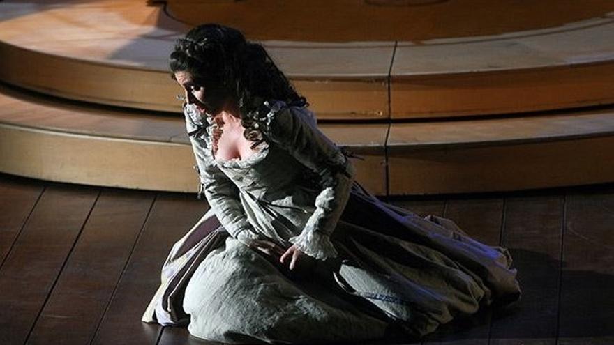 La soprano Sabina Puértolas.