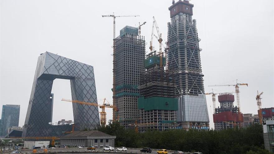 El PIB de China subió un 6,8 % el primer trimestre de 2018