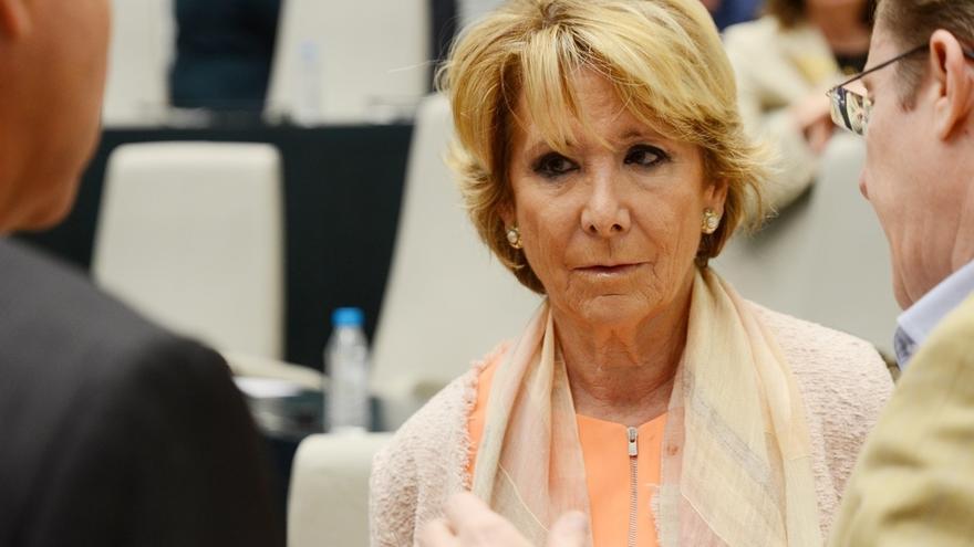 """Aguirre: """"Llevo 33 años en política y aún están por encontrarme algo en la hemeroteca de lo que me tenga que desdecir"""""""