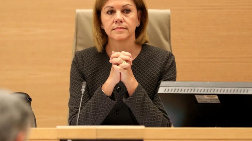 El Congreso interroga mañana a Cospedal sobre la 'caja b' que la Justicia considera probada