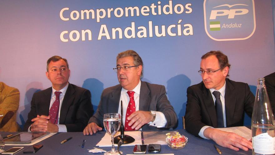 """Zoido lamenta que no haya """"ni una propuesta, ni documento de avances"""" en el Pacto por Andalucía ofrecido por Griñán"""