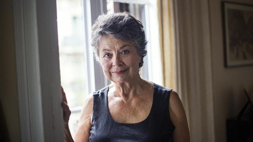 La socióloga Marina Subirats, en su vivienda de Barcelona.