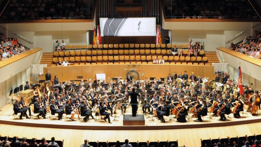 El Palau de la Música acoge el Certamen Internacional de Bandas