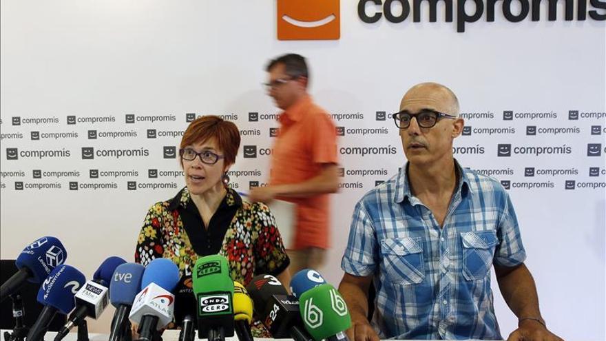 Compromís afirma que las negociaciones con PSPV no están rotas en la práctica