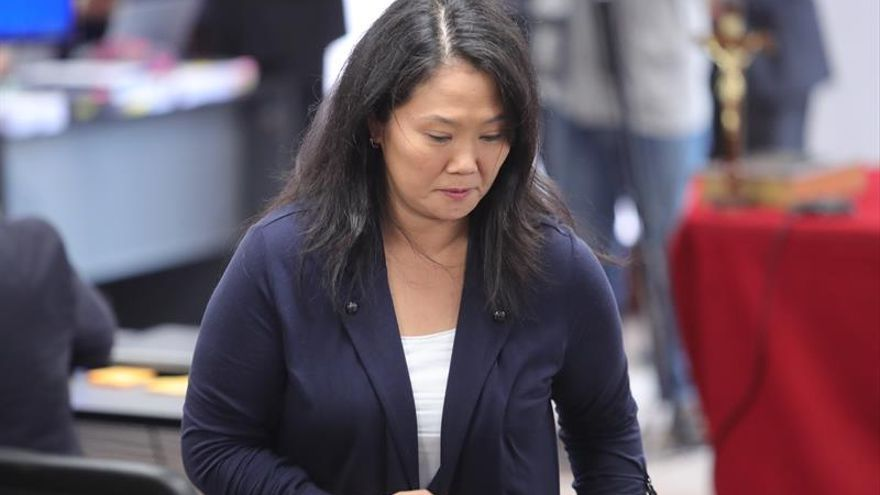 Trasladan a Keiko Fujimori de la cárcel a una clínica por problemas coronarios