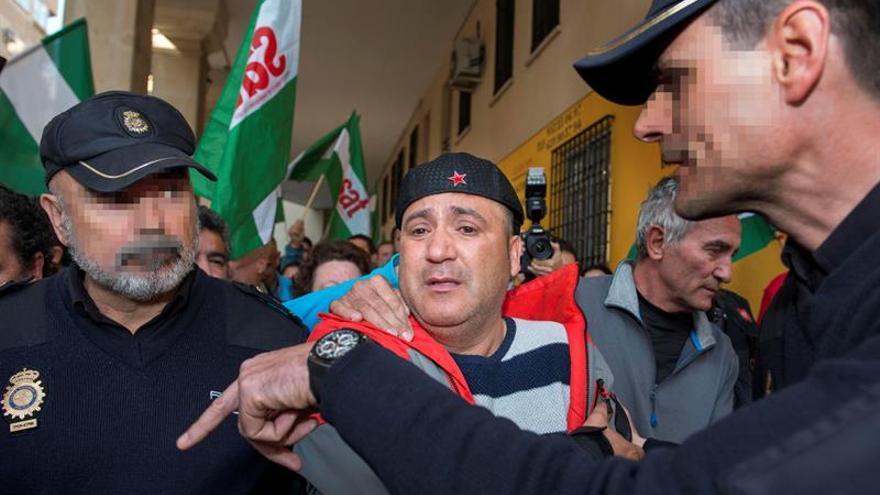 Detienen a Bódalo entre gritos de libertad y cantos del himno de Andalucía