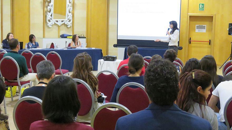 Imagen de un anterior congreso de los médico de familia de Canarias