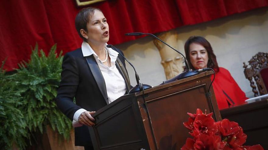 """Barkos hace una """"defensa contundente"""" del régimen foral en el Día de Navarra"""