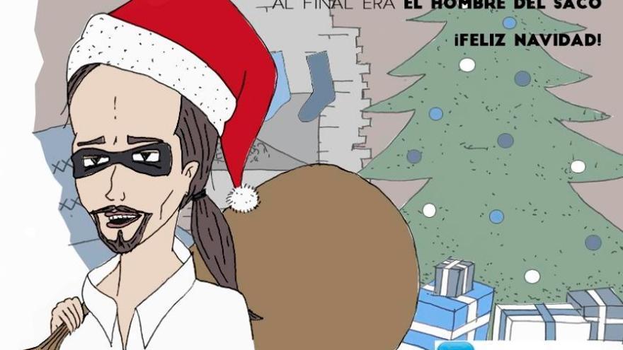 Felicitación navideña de NNGG de Valladolid
