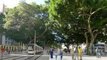 El Metro de Málaga atravesaría la Alameda Principal en superficie