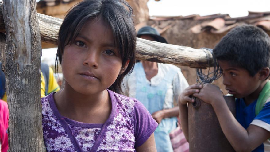 En el mundo, 200 millones de niños menores de cinco años no tienen acceso a una atención sanitaria básica. Foto: Salva Campillo / AeA