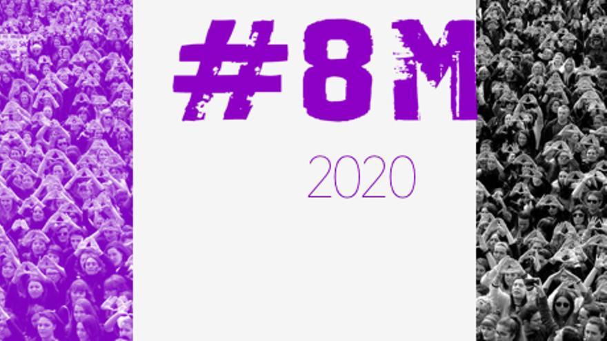 logo del 8m de 2020