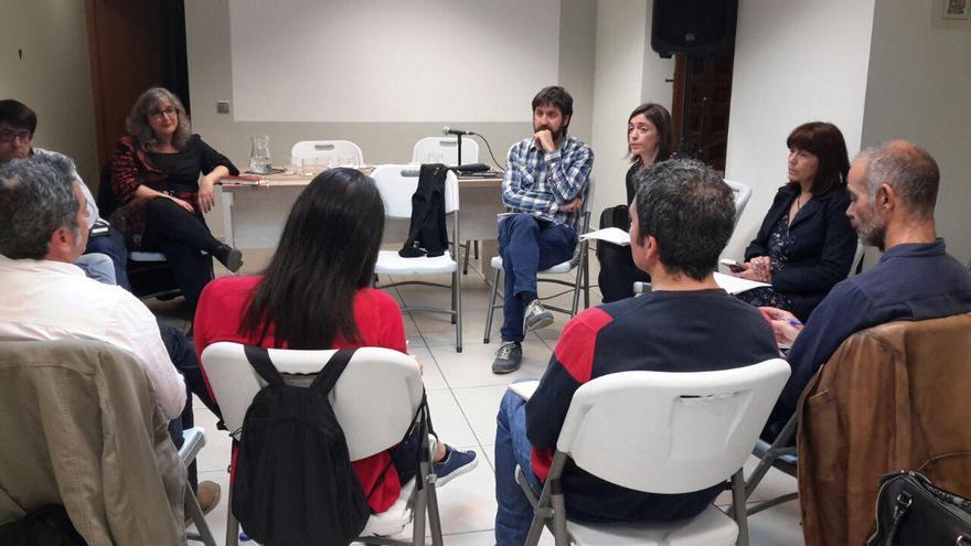 Reunión con Sandra Salsón y Fernando Sabín en Toledo