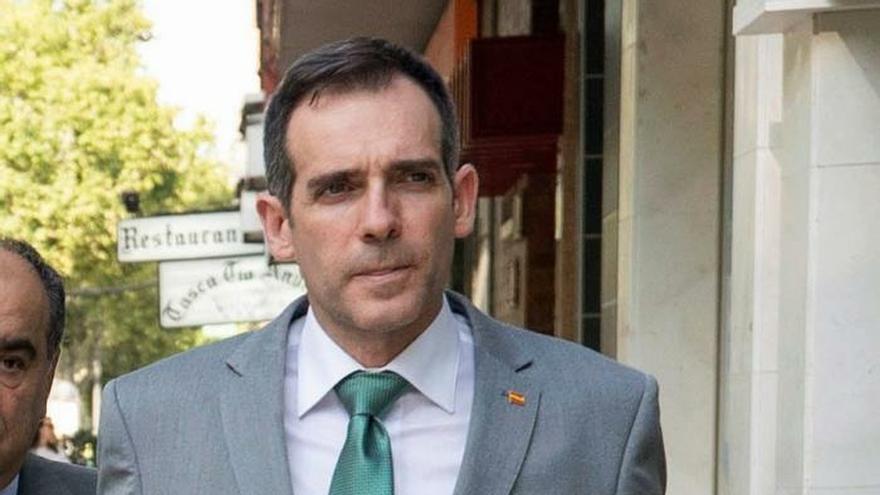 Juan José Liarte, uno de los diputados de Vox en Murcia suspendido de afiliación por la dirección nacional