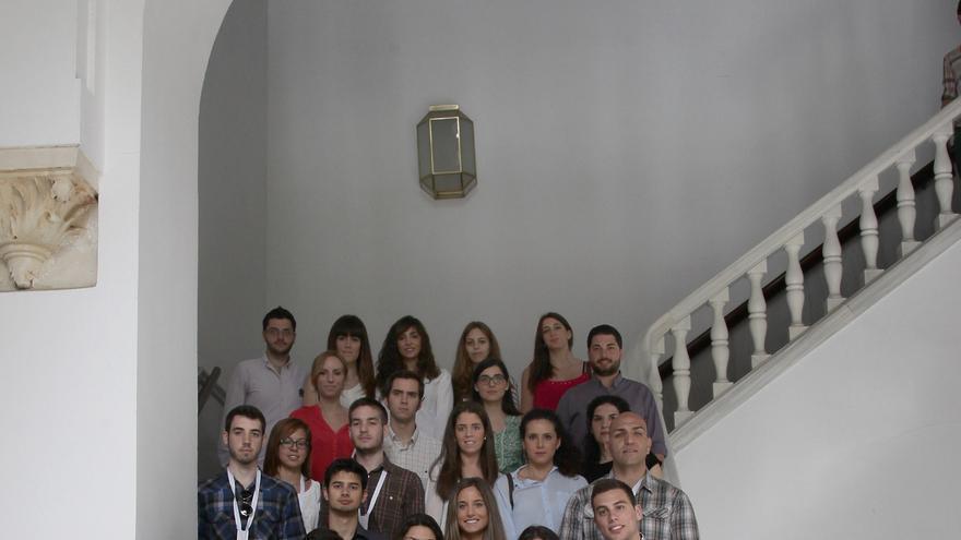 Estudiantes de la UCO con informe contra el recurso de la Ley Antidesahucios.