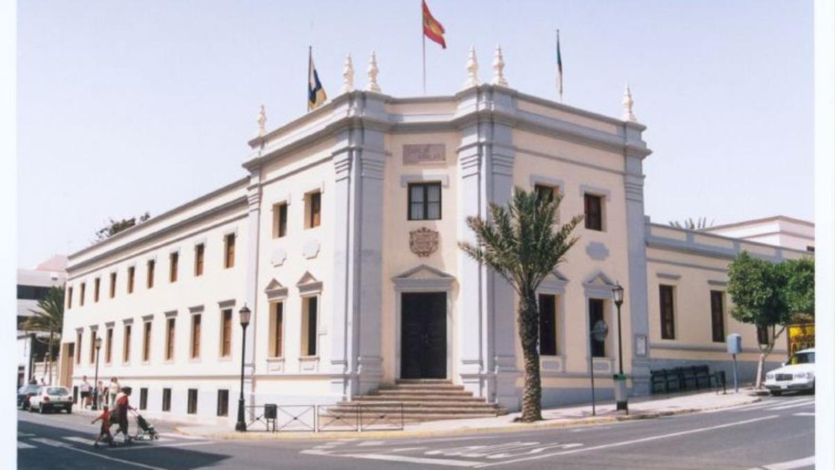 Fachada del Cabildo de Fuerteventura