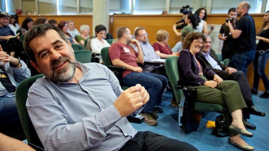 Jordi Sánchez, reelegido presidente de la Asamblea Nacional Catalana