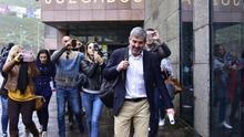 Fernando Clavijo, saliendo de los juzgados de La Laguna tras declarar por el caso Grúas