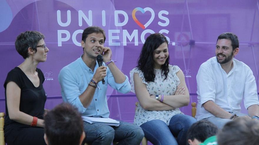 Acto de Podemos en Plasencia