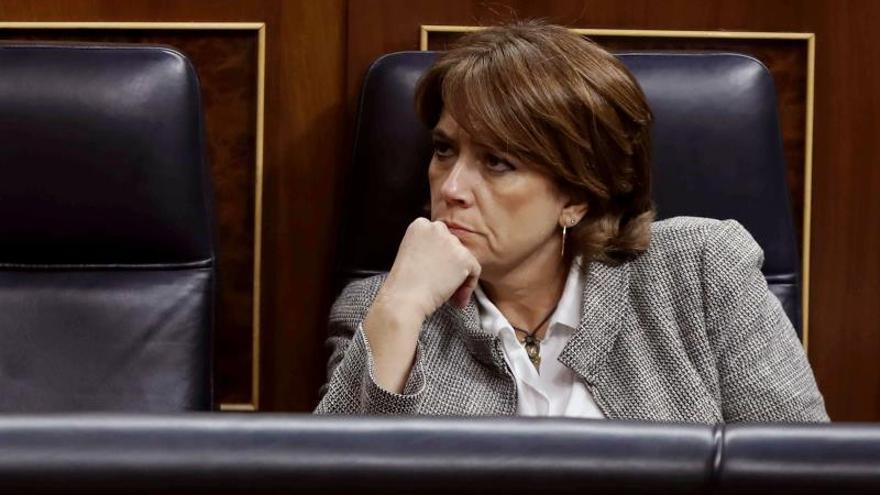 La portavoz de Justicia del PP en el Senado reprocha a Delgado su bloqueo en Twitter