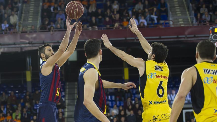 Juan Carlos Navarro en el partido ante el CB Canarias. FOTO: ACB Photo/V. Salgado