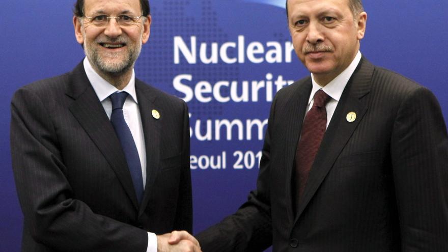 Rajoy debate con Erdogan las posibilidades de Turquía para las empresas españolas