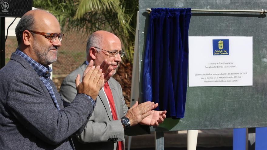 Inauguración del Ecoparque Gran Canaria Sur. (ALEJANDRO RAMOS)