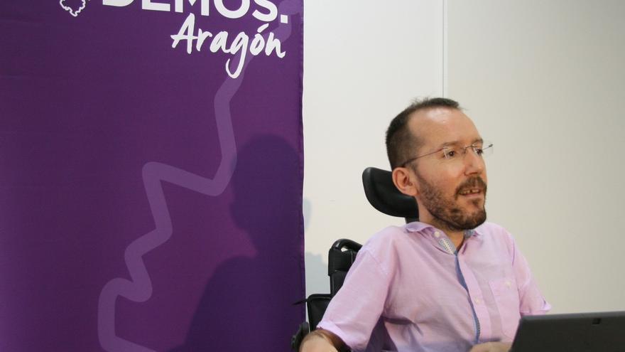 Echenique defiende los nuevos estatutos de Podemos e insta a dejar trabajar a la Comisión de Garantías
