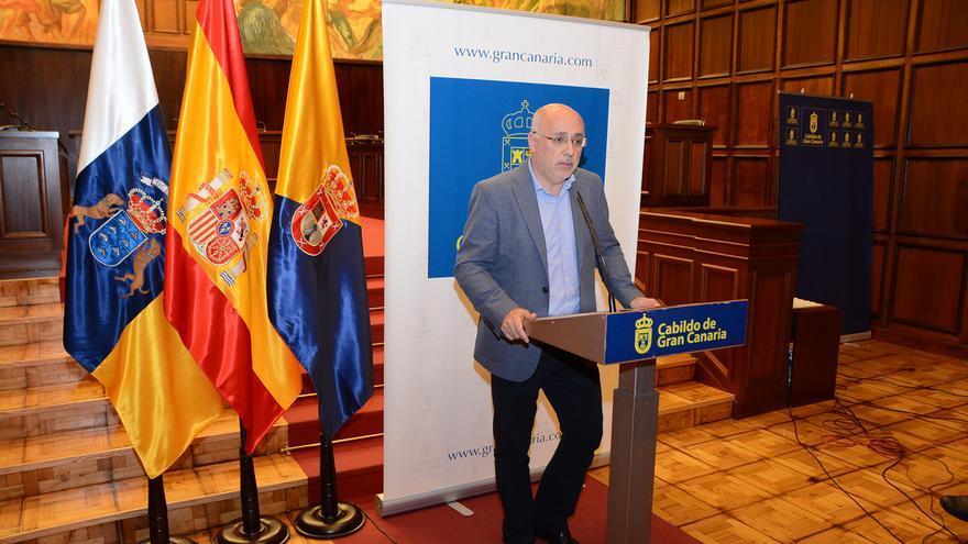 El presidente del Cabildo de Gran Canaria, Antonio Morales (Acfipress)