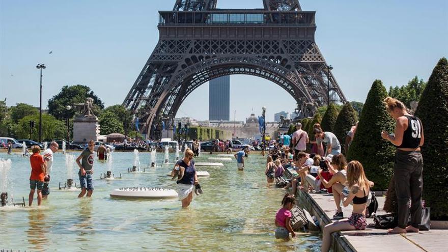 El oeste de Francia sufre una ola de calor con máximas en torno a 40 grados
