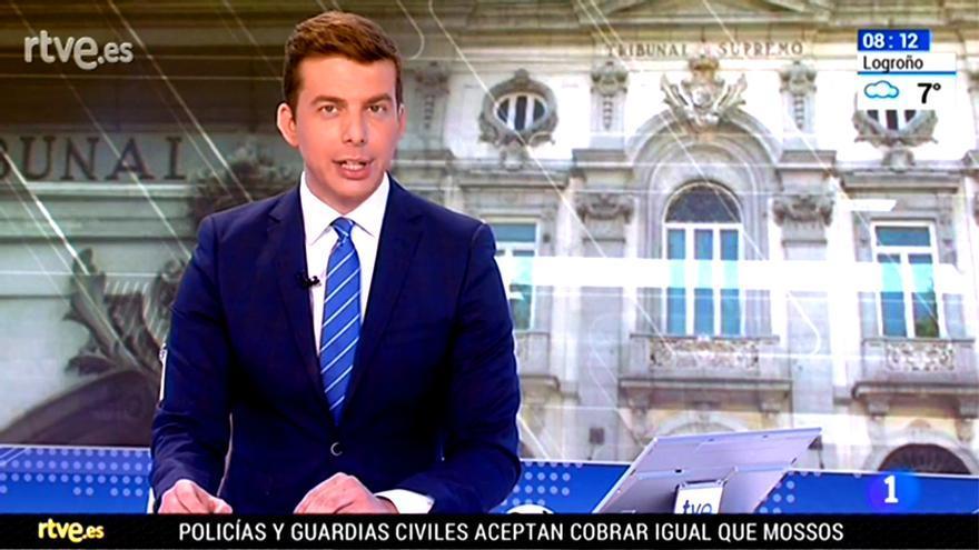 Los informativos matinales, presentados solo por hombres por el 8M