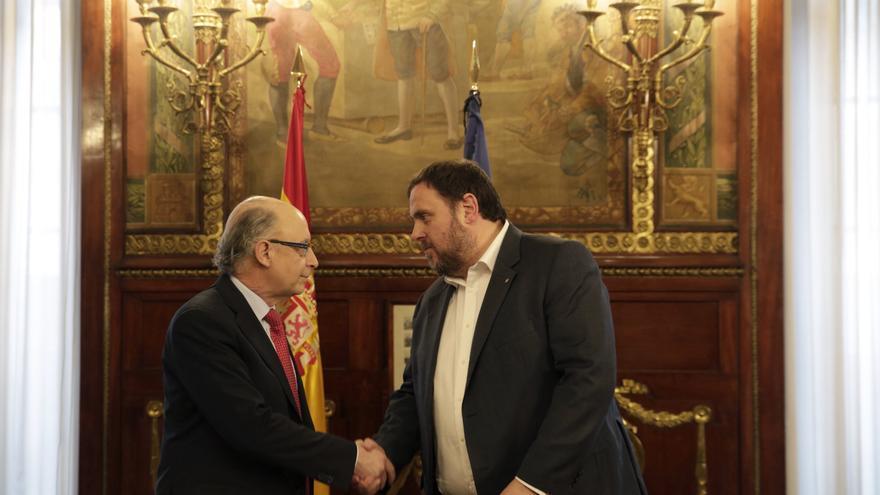 Cristóbal Montoro i Oriol Junqueras