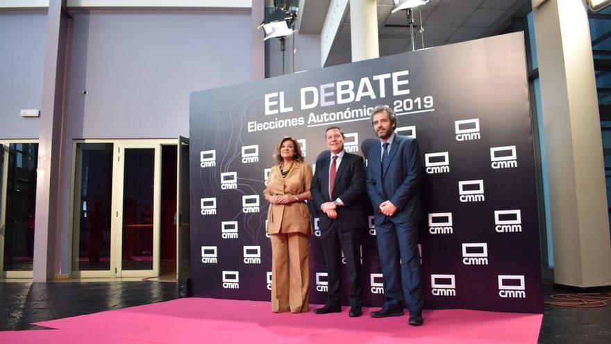 Emiliano García-Page llega a la sede de CMMedia