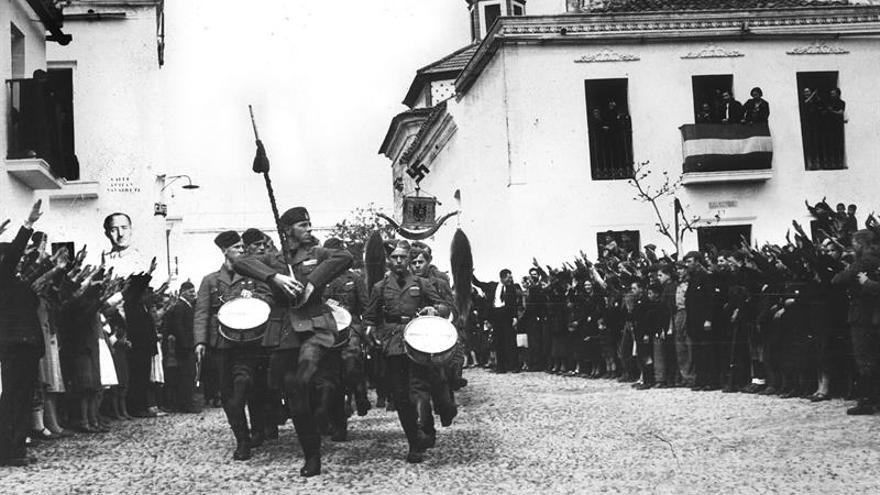 """Extremadura tiene """"aunque olvidado y con musgo"""" su recuerdo a la Legión Cóndor"""