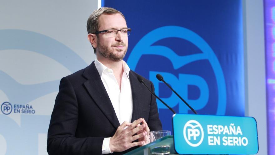 """Maroto dice que Rajoy hará un """"ejercicio de generosidad sin precedente"""" para intentar variar la postura de Pedro Sánchez"""