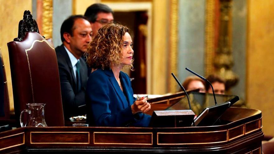 Meritxell Batet, presidenta del Congreso