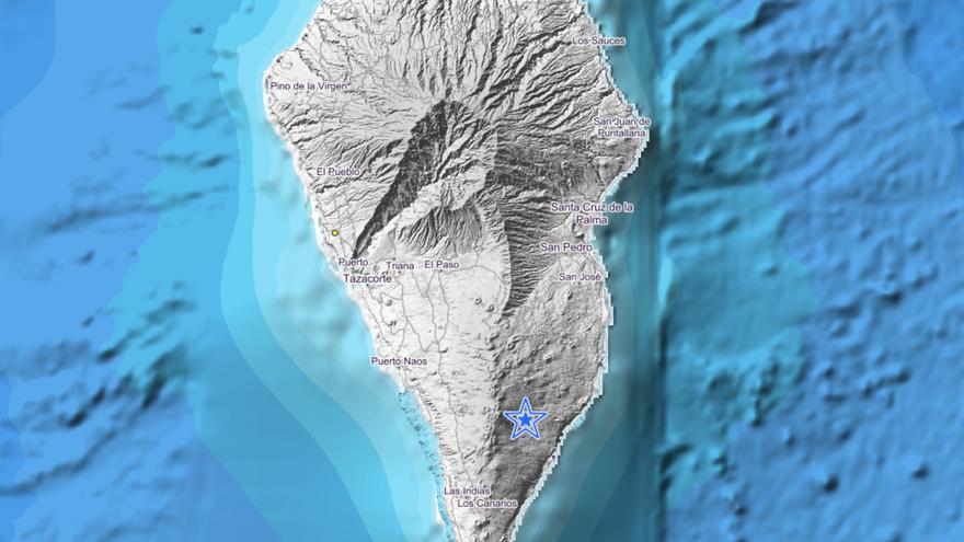 Movimiento sísmico de magnitud 2 en Fuencaliente