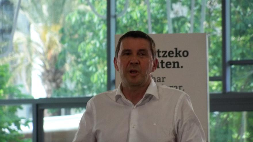 """Otegi dice que EH Bildu necesita """"un buen resultado"""" el 26-J para """"encarar las autonómicas en mejores condiciones"""""""