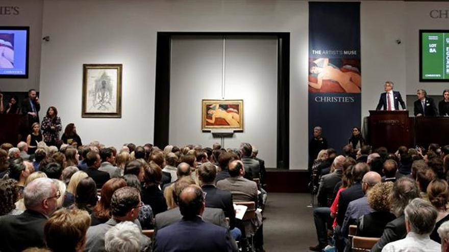 """""""Meule"""" de Claude Monet se subasta por 72,5 millones de dólares en Christie's"""