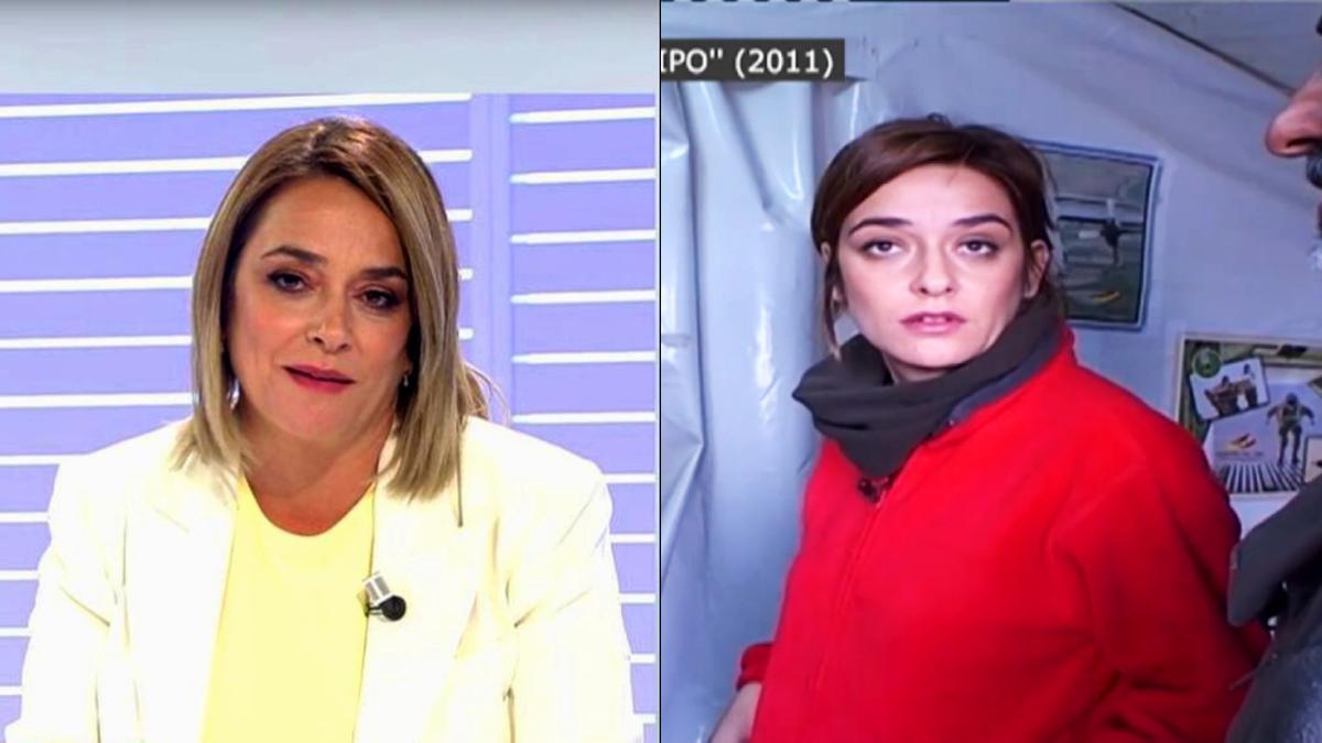 Toñi Moreno en 'Cuatro al día' y 'Mi equipo' en 2011