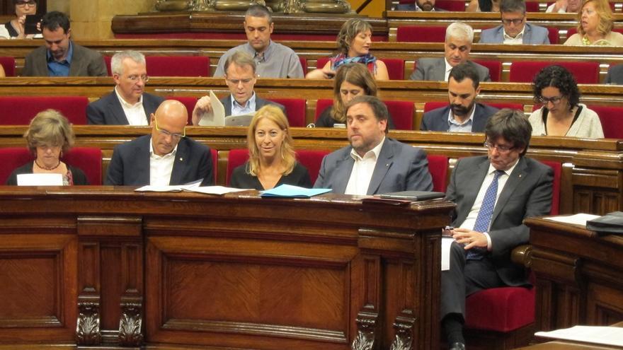 El Parlament catalán avalará el proceso constituyente y tramitará la primera ley de ruptura