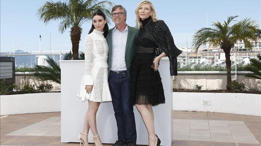 El juego de blanco y negro de Cate Blanchett y Rooney Mara