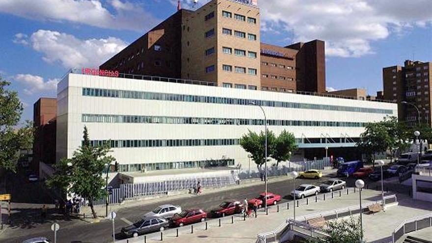 El Hospital Universitario de Móstoles (Madrid).