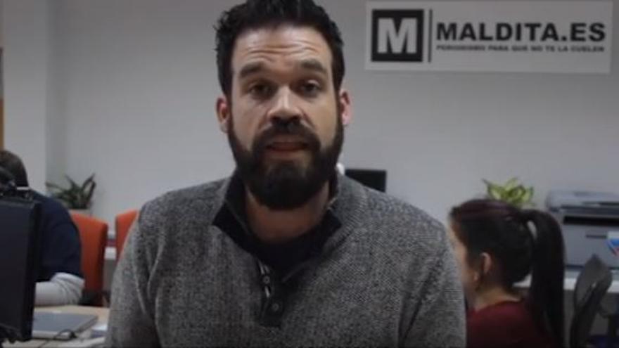 El coordinador de Maldito Dato, Ignacio Calle.