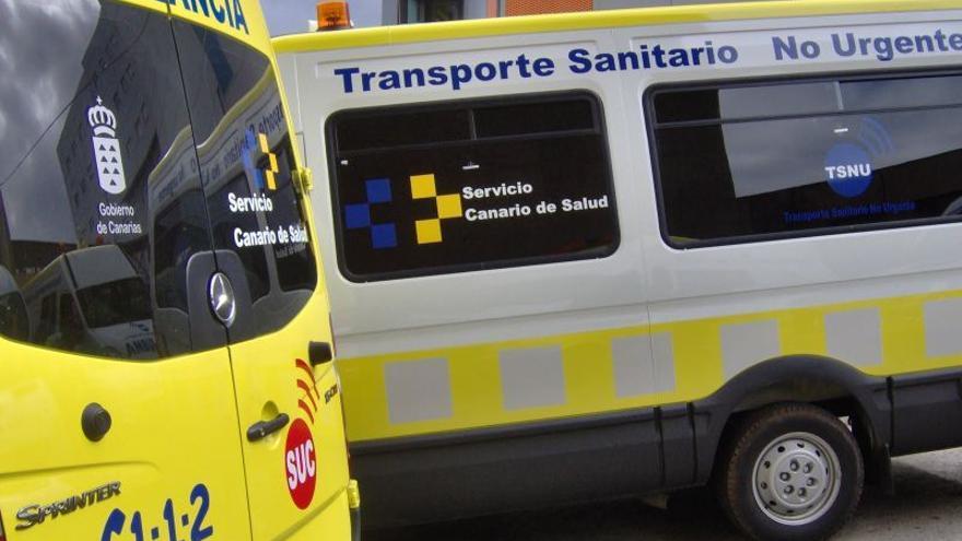 Ambulancias del SUC.