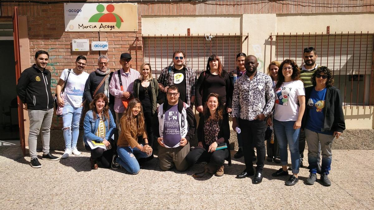 Grupo de Derecho a la Ciudadanía de EAPN Región de Murcia