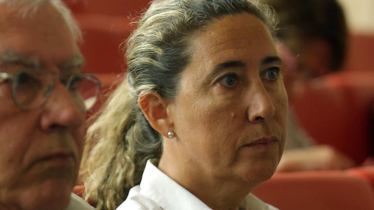 Gemma Montull, durante el juicio